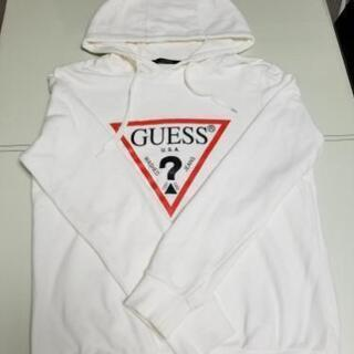 GUESS ロゴパーカー