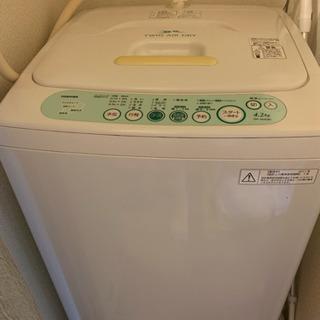 【無料】TOSHIBA 洗濯機 2011年制