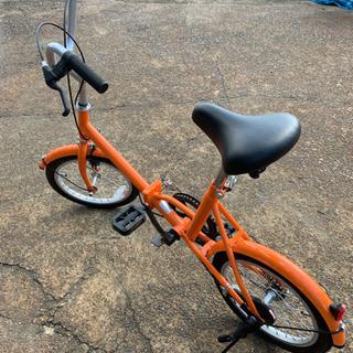 au限定 折りたたみ自転車