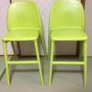 ♪ キッズ用ハイチェア IKEA URBAN ウルバン 2脚あり...