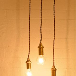 【お洒落な照明】Momo Naturalの6ピースオレンジライト