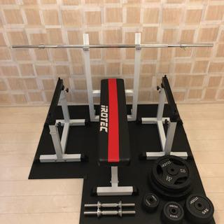 irotec ベンチプレス 100kgセット / wild fi...