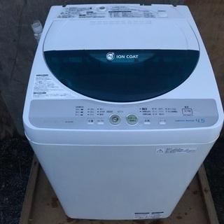 【近郊配送無料】4.5kg 洗濯機 SHARP ES-FG45K