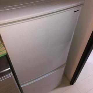 冷凍冷蔵庫(SJ-D14D SHARP)