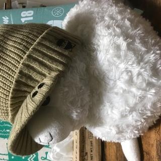 冬用ジュニア帽子