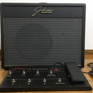 【値下げ中】中ギターアンプ、ジョンソンJT-50、フットコントローラ付