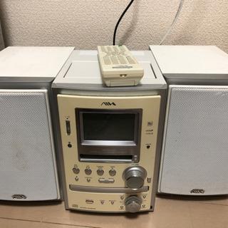 【取りに来れる場合値下げ可能】CD、MDコンポ
