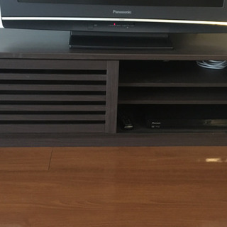 購入後3年のテレビ台