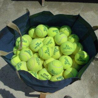 中古テニスボール 100球