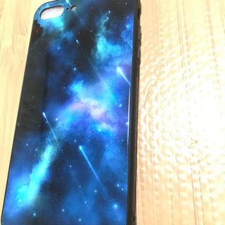 クリスマスセール【新品】iPhone7plus 宇宙柄ケース