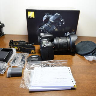 正規購入品(ほぼ新品・極上品) Nikon D750 本体・レン...