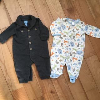GAPのスウェット地服とリトルミーのパジャマ 60