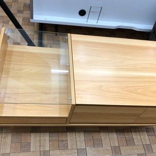 ドレッサーテーブル ディスプレイ収納付き 可動ミラー付き …