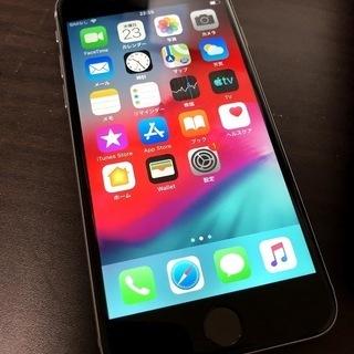ドコモ iPhone6 16GB シルバー 美品