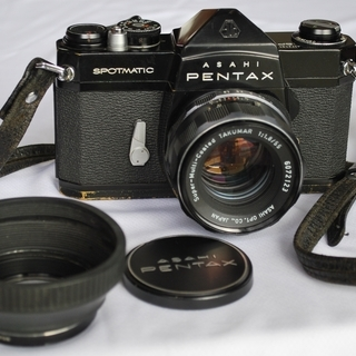 ASAHI PENTAX SP 55mm F1.8 レンズ付