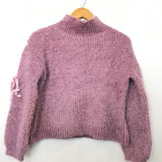 ●マジェスティックレゴン 丸首ニットセーター#Cattleya109