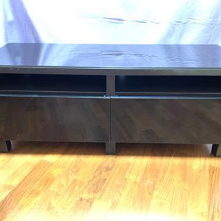 IKEA テレビ台 テレビボード 黒