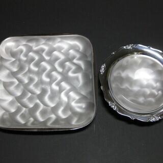 【値下げ】パールシルバー皿セット