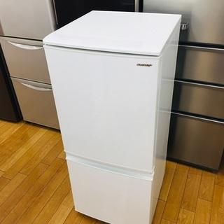 【トレファク鶴ヶ島店】SHARP SJ-D14E-W 2ドア冷蔵庫