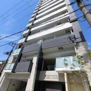アドバンス大阪ルーチェ -アウトポール設計で開放感ある室内。室内...