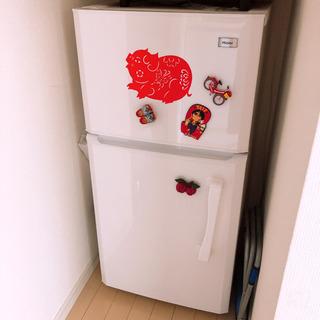 【お引き取り11/3限定】冷蔵庫 Haier JR-N106E