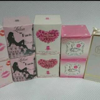 香水   まとめ売り  6種類  10個