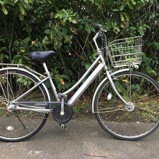 ブリヂストン ベルトドライブ自転車  ALBELT 内装3段 シルバー