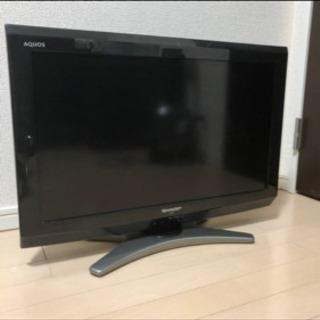 AQUOS SHARP 26v  テレビ テレビ台