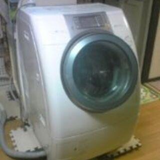 ドラム式洗濯機お譲りします。まだ充分使えます。