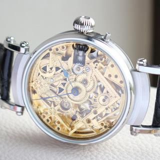 下取&値引き交渉あり 1895年 IWC 懐中時計のムーブメント...