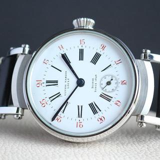 1890年代 ユリスナルダン懐中時計ムーブメント使用カスタム腕時...