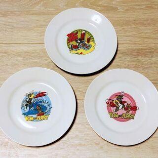 トムとジェリーお皿(キャラクター絵皿)3枚セット 新品