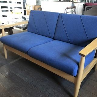 木製ソファー破格値で!19800円を値下げの16800円で!新品...