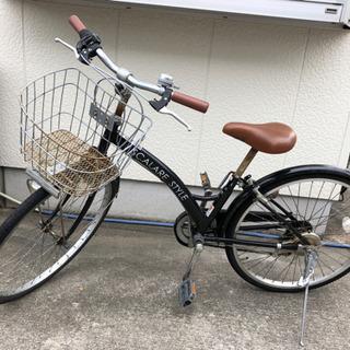 商談中【中古】24インチ自転車