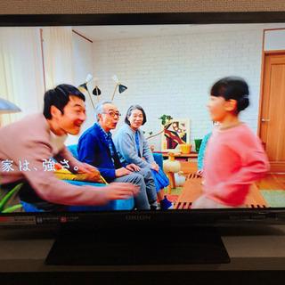 19インチテレビ  オリオン  2016年製