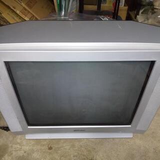 [ジャンク]  TV 貰ってください。ビクター ブラウン管テレビ...