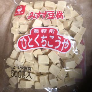 高野豆腐500g