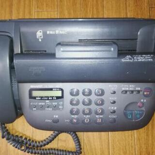 ファックス電話機 シャープSHARP UX-T3CL ジャンク