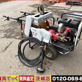 共立 自走キャリーセット動噴 VSC3550G 動力噴霧機 SP355