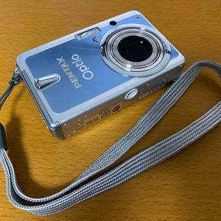 コンパクトデジタルカメラ PENTAX Optio S10 ブルー