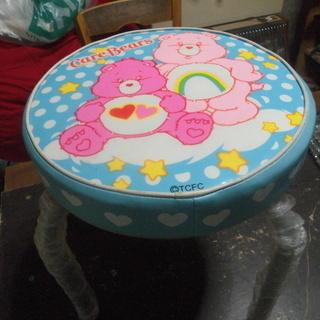 お子様用の丸椅子です「新古品」
