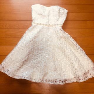 【100円】ナイトドレス キャバドレス オフホワイト