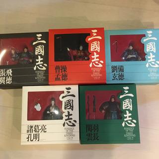三國志 川本喜八郎コレクション 塗装済完成品 5体セット