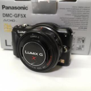 Panasonic DMC-GF5X ブラック