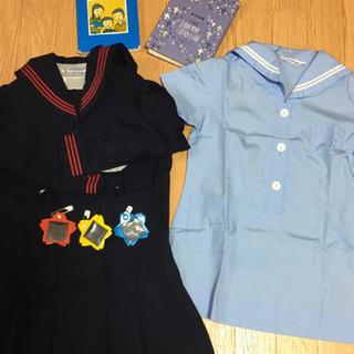 めぐみ幼稚園 制服 聖書・讃美歌・バッチ付き