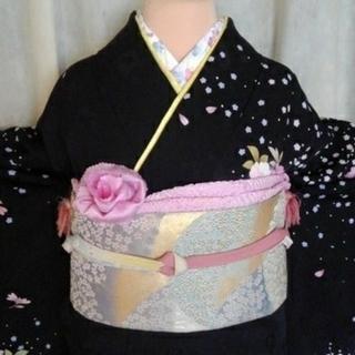 振り袖⑭、長襦袢、袋帯、小物セット - 京都市