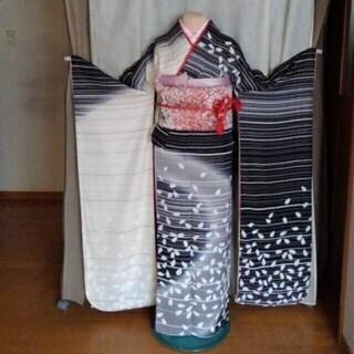 振り袖②、長襦袢、袋帯、小物セット