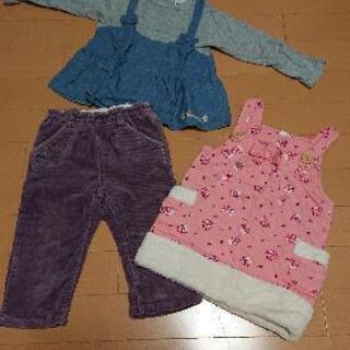女児 80~90cm 冬服 ④