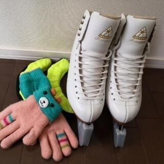 女性用フィギュアスケート靴