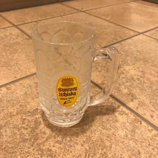 サントリー角ハイグラス ビールジョッキ ビールタンブラーいっぱい